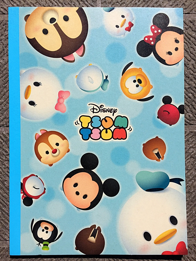 TsumTsum Notebook Front